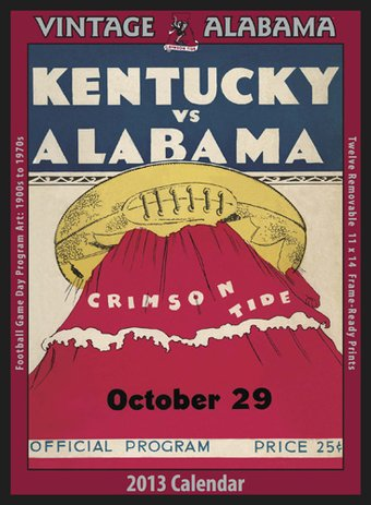 Football - Alabama Crimson Tide - Vintage 2013