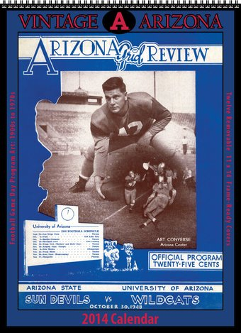 Football - Arizona Wildcats - Vintage 2014