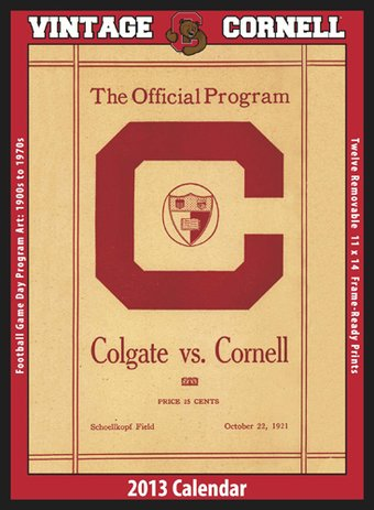 Cornell Big Red - Vintage 2013 Football Calendar