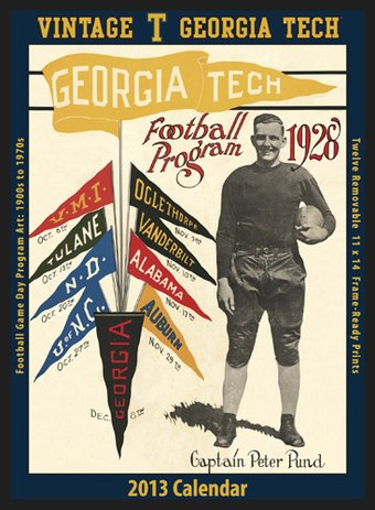 Football - Georgia Tech Yellow Jackets - Vintage