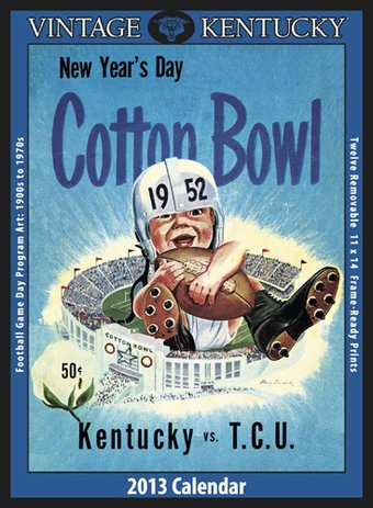 Football - Kentucky Wildcats - Vintage 2013