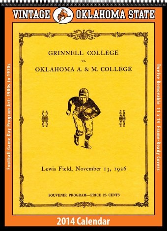 Oklahoma State Cowboys - Vintage 2014 Football
