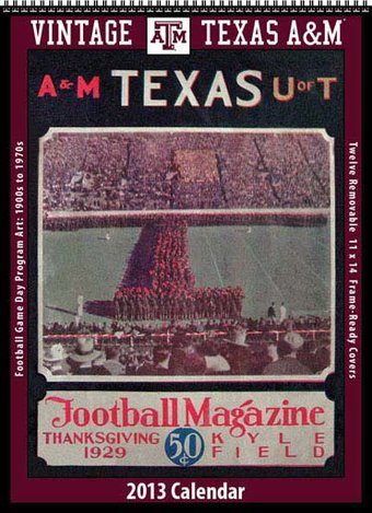 Texas A&M University Aggies - Vintage 2013