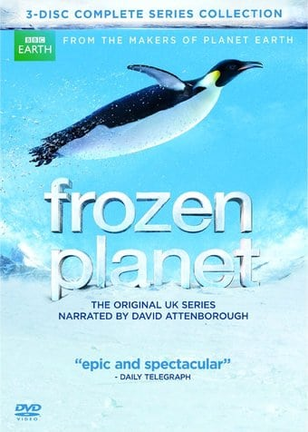 Frozen Planet - Complete Series (3-DVD)