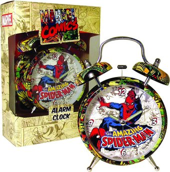 "Spiderman - Retro 4"" Alarm Clock"