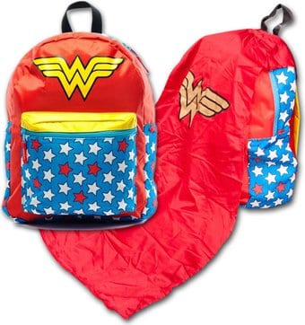 DC Comics - Wonder Woman - Backpack With Cape