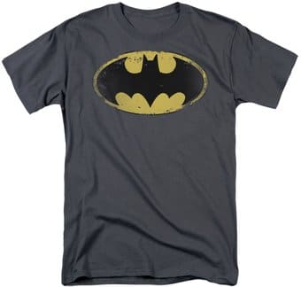 Batman - Distressed Shield - T-Shirt