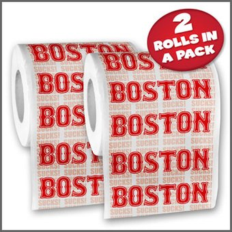 Funny Toilet Paper - Boston - Toilet Paper 2-Pack