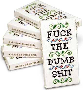 Gum - Fuck The Dumb Shit - 6 Pack