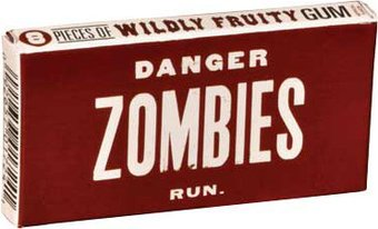 Funny Gum - Danger, Zombies, Run