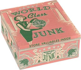 World Class Junk Petite Tin Cigar Box