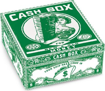 Tin Petite Cigar Box - Cash Box