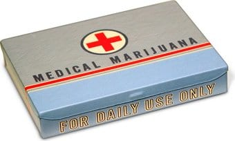 Tin Pocket Box - Medical Marijuana