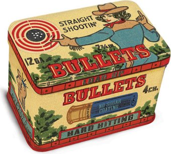 Tin Jr. Treasure Box - Bullets