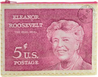 Zipper Pouch - Eleanor Roosevelt