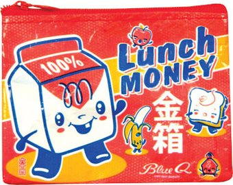 Coin Purse - Lunch Money