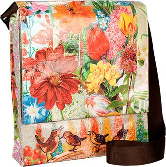 Messenger Bag - Bird Bath
