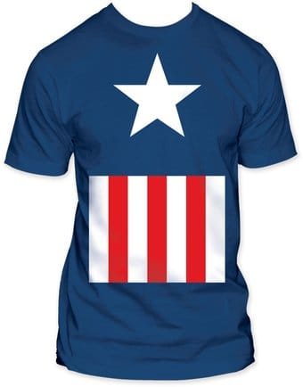 Marvel Comics - Captain America - Suit (Fitted