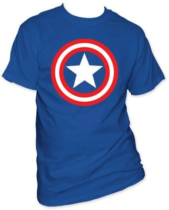 Marvel Comics - Captain America - Shield On Royal