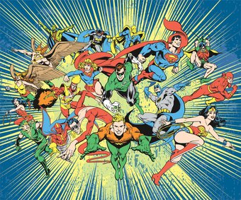 DC Comics - Justice League of America Superhero