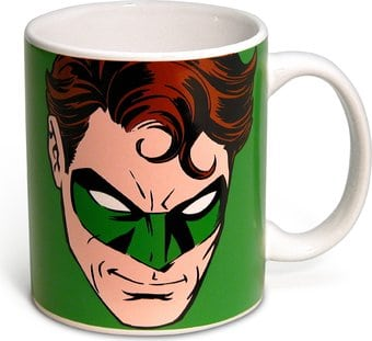 DC Comics - Green Lantern - Face - 12 oz. Ceramic