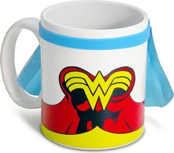 DC Comics - Wonder Woman - Caped 20 oz. Ceramic