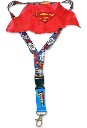 DC Comics - Superman - Caped Lanyard with Keyring