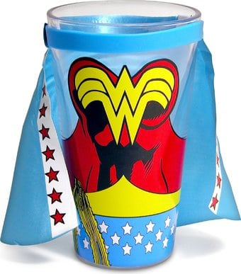 Wonder Woman - Caped 16 oz. Pint Glass
