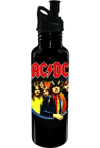 AC/DC - Aluminum Water Bottle