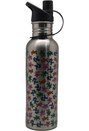 Dancing Bears - Aluminum Water Bottle