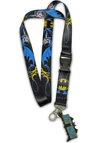 Batman - Lanyard and Keyring