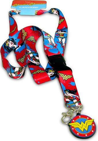 DC Comics - Wonder Woman - Lanyard & Keyring