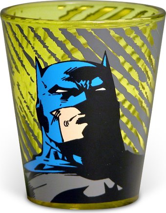 DC Comics - Batman - Golden Yellow Shot Glass