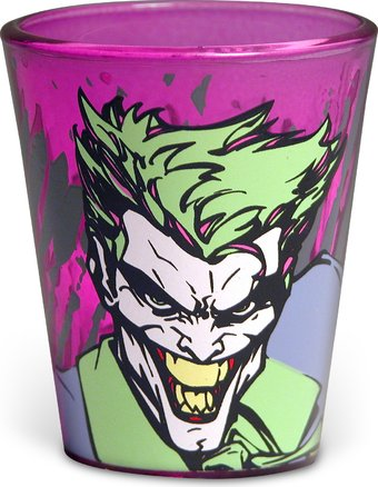 DC Comics - Batman - The Joker - Purple Shot Glass