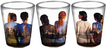 Pink Floyd - Backs Single Shot Glass