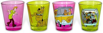 Scooby Doo - Shot Glass Set of 4