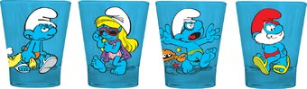 Smurfs - 4 Piece Shot Glass Set