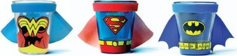 DC Comics - Uniform: 3-Piece Caped Shot Glass Set