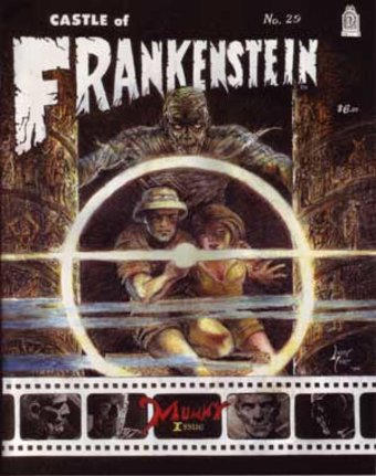 Castle Of Frankenstein #29 (Mummy Issue)
