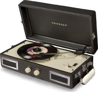 Crosley CR40-BK Mini Turntable (Black)