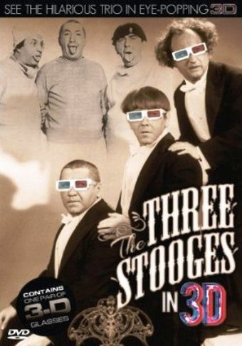 The Three Stooges In 3d With 3d Glasses Dvd 2012