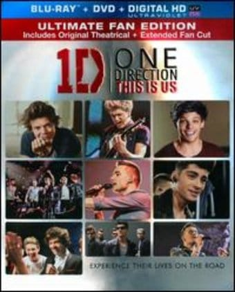 One Direction: This Is Us (Blu-ray + DVD)