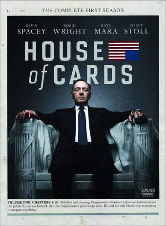 House of Cards - Complete 1st Season (3-DVD)
