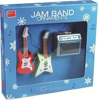 Music Ornaments - Jam Band Ornaments (Set of 3)