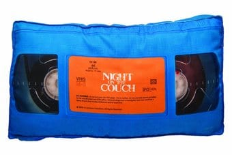 Retro Pillow - VHS Tape