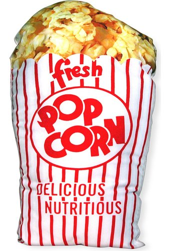 Retro Pillow - Popcorn