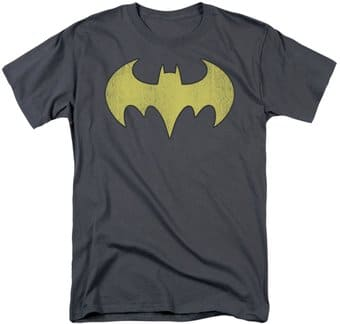 Batgirl - Logo Distressed - T-Shirt