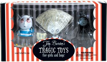 Tim Burton - PVC Set #3 Oyster Boy