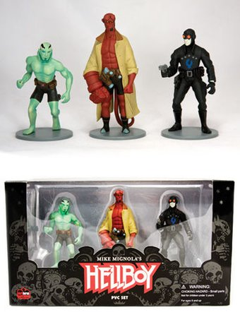 Hellboy - 3-Piece  Action Figure Set