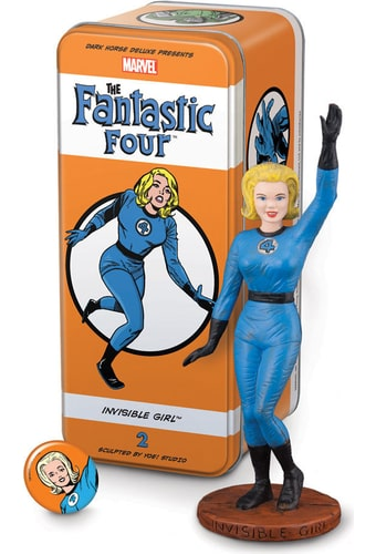 Classic Characters - Fantastic Four: Invisible